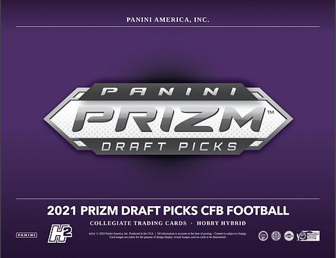 2021 Panini Prizm Draft Hybrid Football 1 Box Break #1-PYT