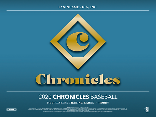 2020 Panini Chronicles Baseball 2 Box Break #1-PYT