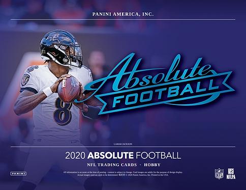 2020 Panini Absolute Football 1 Box Break #1-PYT