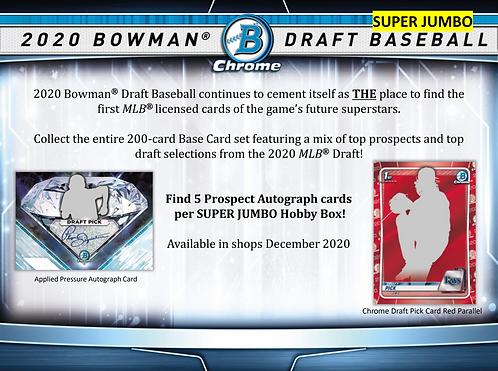 2020 Bowman Draft Super Jumbo 1 Box Break #1-PYT