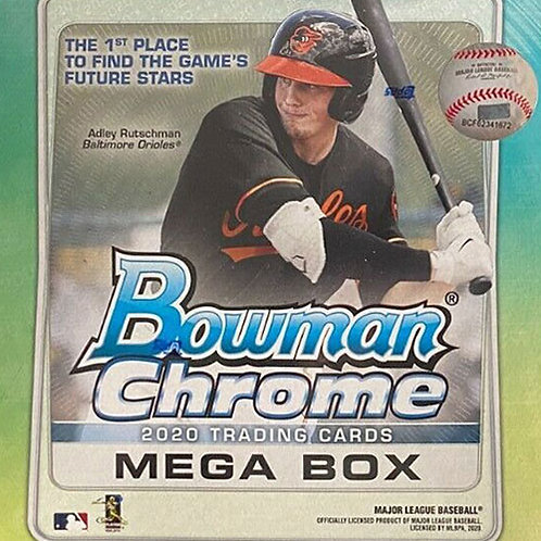 2020 Bowman Chrome Mega 5 Box Break #1-PYT