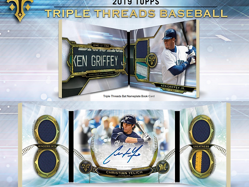 2019 Topps Triple Threads 1 Mini Box Break #1-PYT
