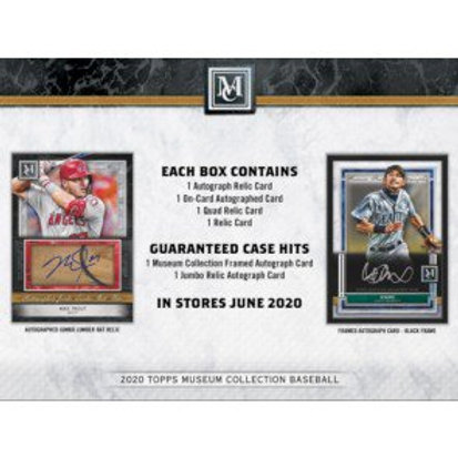 2020 Topps Museum Collection 1 Box Break #2-PYT
