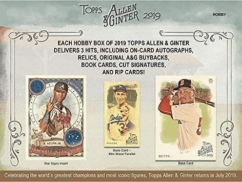 2019 Topps Allen & Ginter 1 Box Break #2-PYT