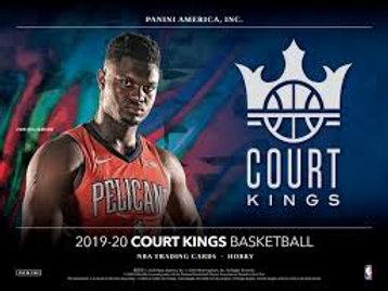 2019-20 Panini Court Kings Basketball 1 Box Break #1-PYT