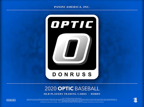 2020 Panini Donruss Optic Baseball 2 Box Break #1-RT