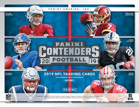 2019 Panini Contenders Football 1 Mega Box Break #4-Pick Your Division