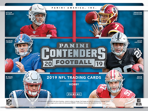 2019 Panini Contenders Football 1 Mega Box Break #4-Pick Your Division