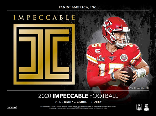 2020 Panini Impeccable Football 1 Box Break #1-PYT