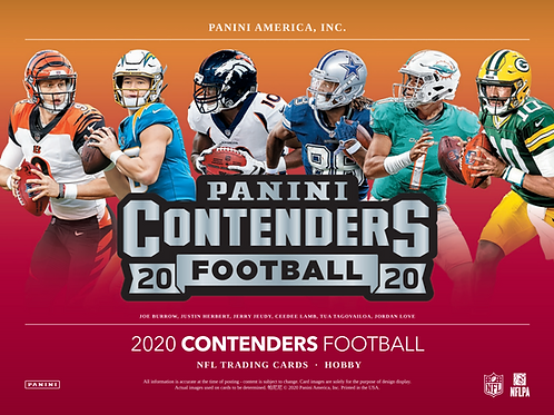 2020 Panini Contenders Football 1 Box Break #2-PYT