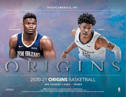 2020-21 Panini Origins Basketball 1 Box Break #1-PYT