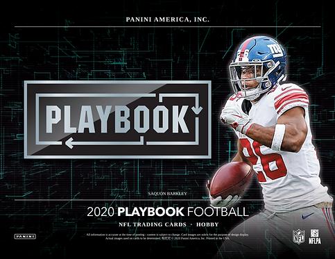 2020 Panini Playbook Football 1 Box Break #3-PYT