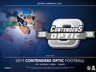2019 Panini Contenders Optic Football 1 Box Break #2-PYT
