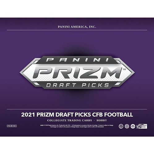 2021 Panini Prizm Draft Picks Football 1 Box Break #1-Random Divisions