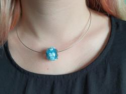 Halsketten mit Glasperlen