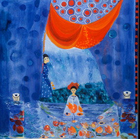 Young Matisse Fishing