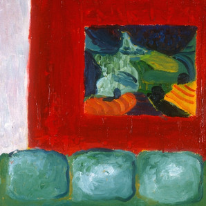 Hockney above the Couch