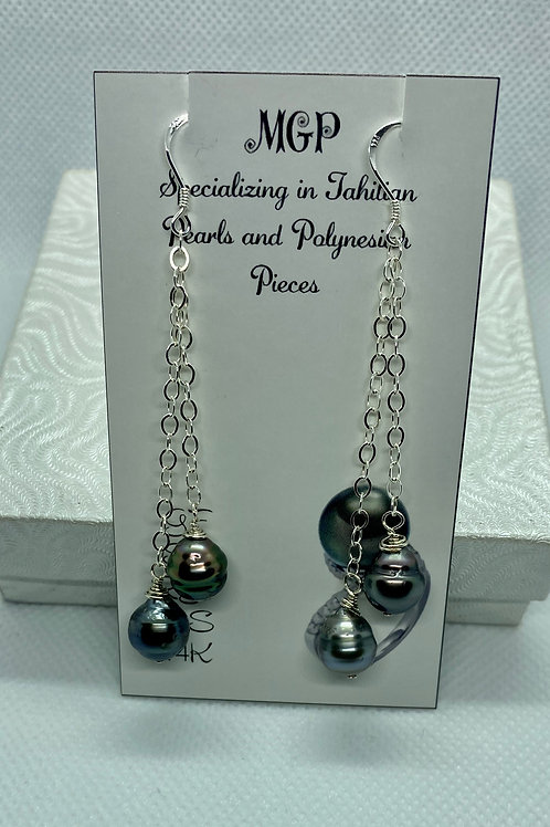 Sterling silver earrings 2