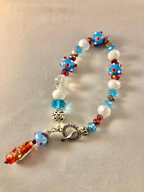 Blue Dot Bracelet