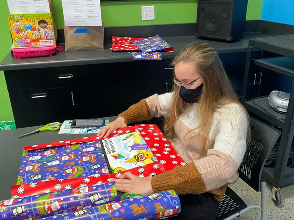 Christmas present wrapping for Let It Be