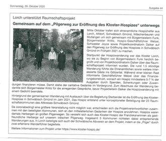 Lorcher Mitteilungsblatt vom 29.10.2020