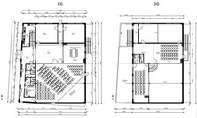 Interior plans Ground and 2nd floors.