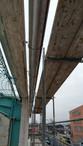 Neu roof gutters installed