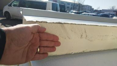 thickness of the sandwich prefab roof panels--steel/foam/steel