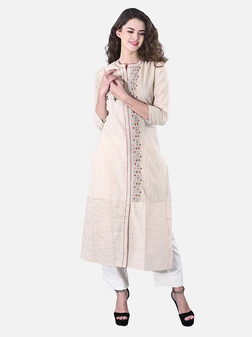 Basic Indian Khadi cotton Kurti