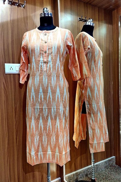 Basic Indian Cotton A-Line Kurti