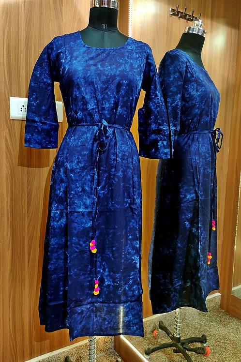 Basic Indian Cotton Dress Kurti (Soft)
