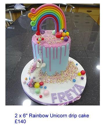 Rainbow Unicorn drip cake.jpg