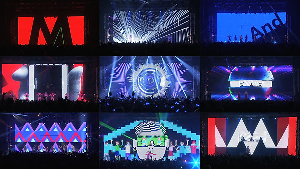 m-flo future is WOW tour stage visual.jp