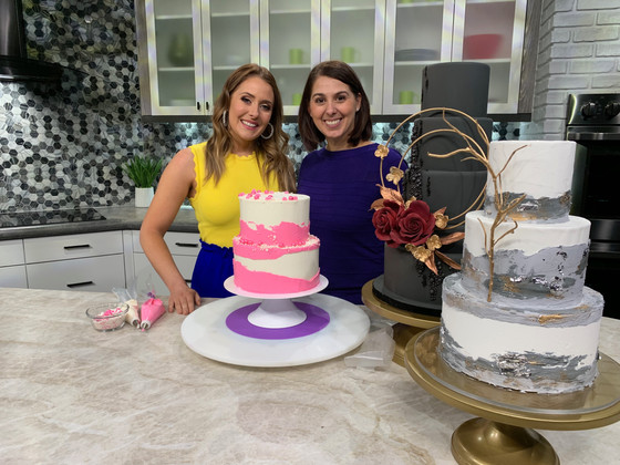 Wedding Trends and Textured Cake Tutorial