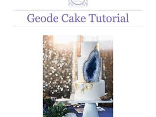 Sugar Geode Cake Tutorial