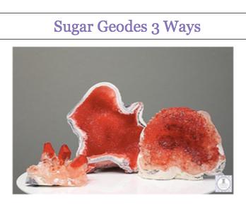 Edible Geodes 3 Ways