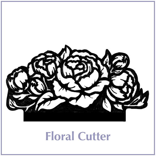 Floral Gumpaste Cutter