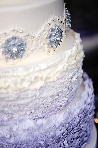 Colorado Wedding Cake by Intricate Icings