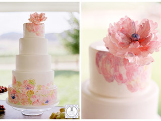 Wedding Wednesday: Floral Watercolor