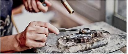 Joyería de autor, diseño de joyería en plata.