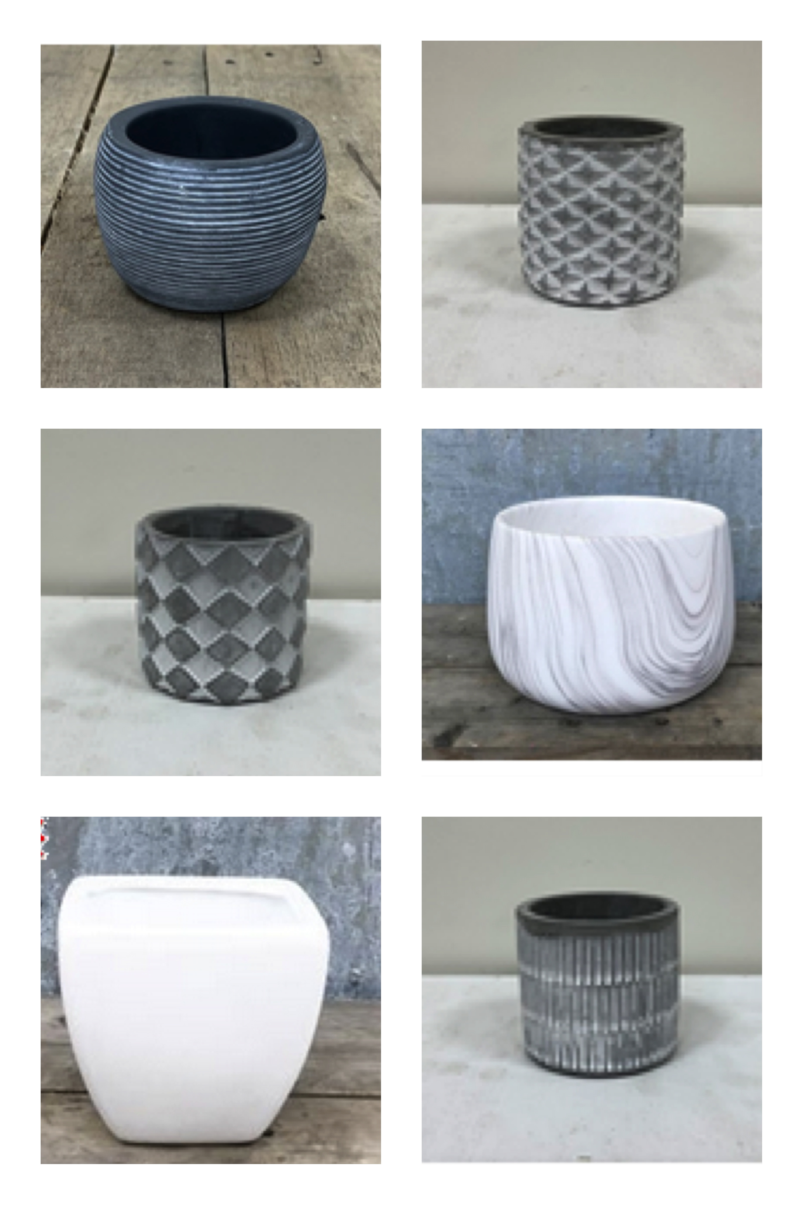 ceramic pot options