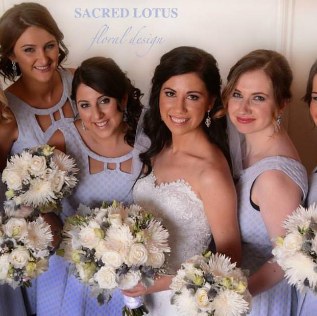 sacred lotus Liya Perelman real wedding