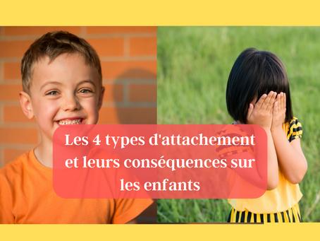 Enfants: 4 types d'attachement