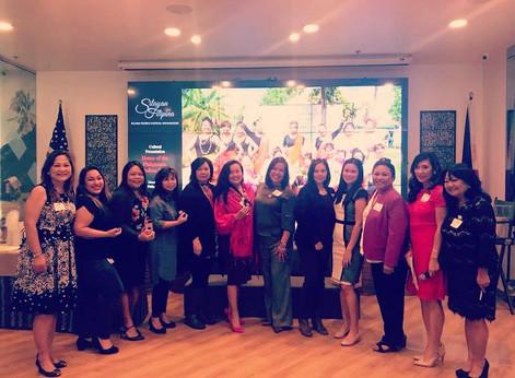 Silayan Filipina Installation of 2018 Board of Directors