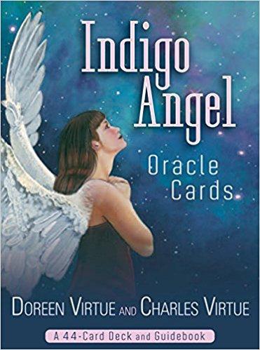 Indigo Angel oracle( 44 cards + Guidebook )