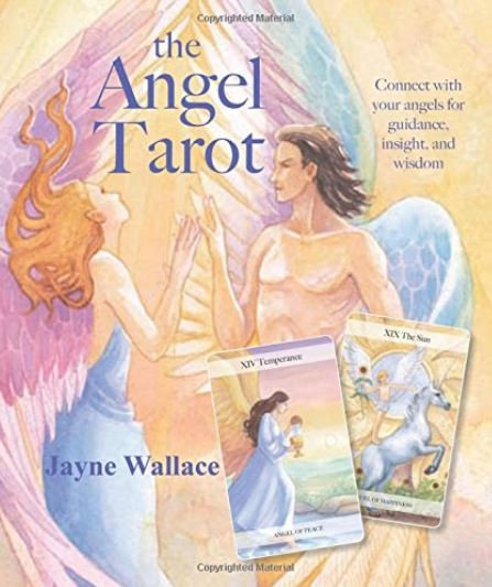 The Angel Tarot ( Guide book + 78 Cards )