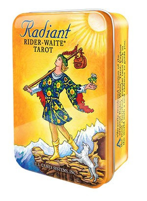 Radiant Rider Waite Tarot - Em lata