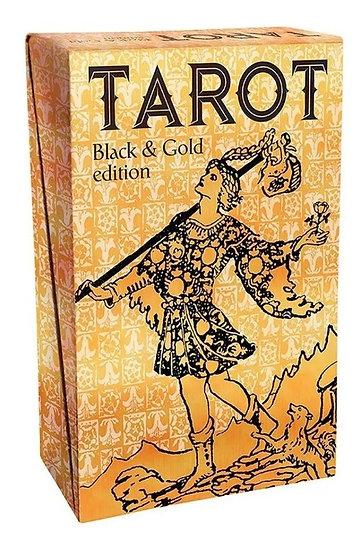 Tarot Black & Gold Edition - Importado - Lacrado + Presente