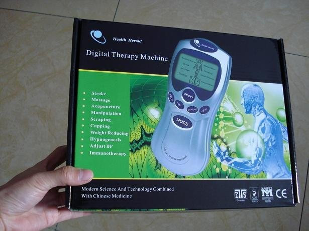 Acupuntura / Terapia Máquina Digital Massager eletrônico de pulso