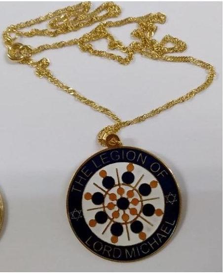 Medalhão Miguel Arcanjo - Colar